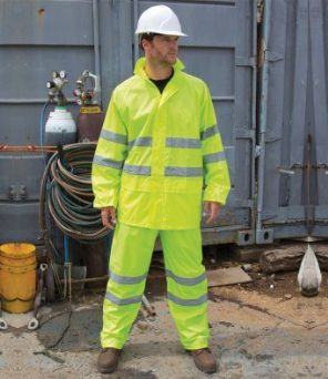 RS216 Result Safeguard Hi-Vis Waterproof Suit
